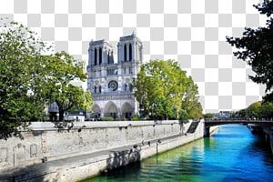 Notre-Dame de Paris Musxe9e du Louvre Menara Eiffel Sacrxe9-Cu0153ur, Paris Jardin du Luxembourg, Paris, Prancis Katedral Notre Dame png