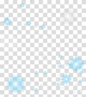 Pola Titik Sudut Garis, elemen efek bintang estetika, template cahaya biru dan putih png