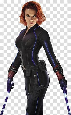 Scarlet Johanson sebagai Marvel Black Widow, Black Widow Iron Man Avengers: Zaman Ultron Vision Clint Barton, Black Widow png