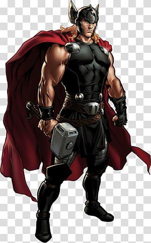 Marvel Thor, Marvel: Aliansi Avengers Thor Captain America Jane Foster Marvel Comics, Thor png
