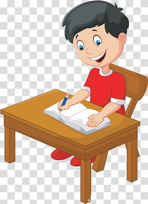 anak laki-laki duduk di kursi ilustrasi, Ilustrasi Penulisan, Anak-anak png