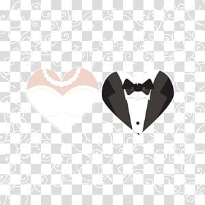 Undangan pernikahan Mempelai Pria, Bahan pola latar belakang mempelai pria dan wanita, Ilustrasi pasangan pakaian pernikahan PNG clipart