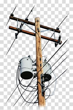 utilitas post art, Kabel Listrik & Kabel Tiang Utilitas Listrik Tegangan, tiang png