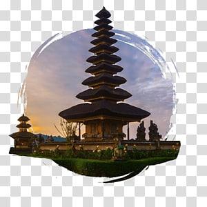 pagoda temple, Pura Ulun Danu Bratan Lake Bratan Bedugul Pura Uluwatu, bali png