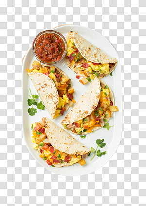 Taco dengan salsa, Taco Breakfast Salsa Bacon, sandwich telur dan keju, Barbecue Cheese Sandwich Pizza png