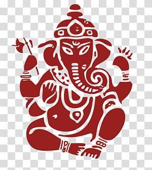 Ilustrasi Ganesha, Shiva Ganesha Parvati Ganesh Chaturthi Hindu, Sri Ganesh png