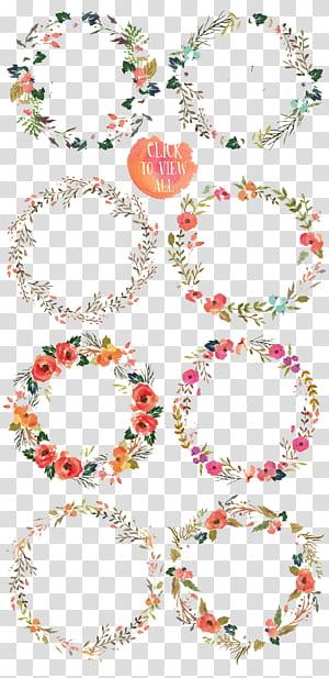 Bunga Lukisan Cat Air Gambar, Warna bunga, ilustrasi karangan bunga berbagai macam warna PNG clipart