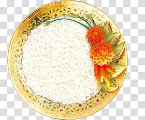 nasi yang dimasak di piring, nasi telur orak-arik Telur nasi putih, nasi png