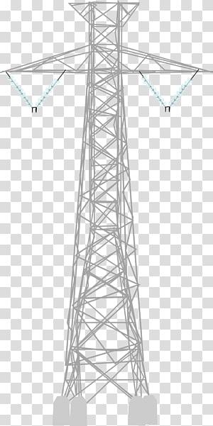 Listrik Saluran listrik overhead Menara transmisi Utilitas publik, tegangan tinggi png