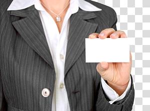 orang yang memegang kartu printer putih, Kartu Bisnis Pemasaran Industri Penjualan, Kartu Bisnis Wanita png