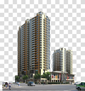 gedung tinggi tampilan perspektif 3D gedung tinggi, gedung tinggi Gedung Pencakar Langit, pemotretan gedung pencakar langit kota PNG clipart
