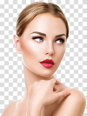 wanita, makeup permanen fibroblast kosmetik microblading wajah, sutra dekoratif PNG clipart