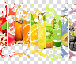 Buah jus jeruk, iklan jus buah kreatif, kolase buah jeruk png