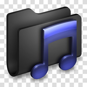 sudut tampilan font perangkat multimedia, Music Black Folder, ilustrasi catatan musik ungu png