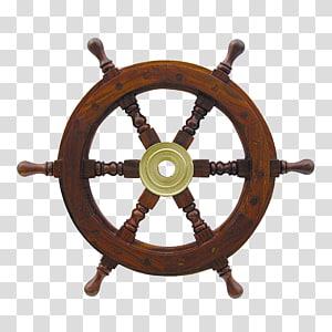 roda kapal coklat, roda Kapal Amazon.com, roda kemudi png