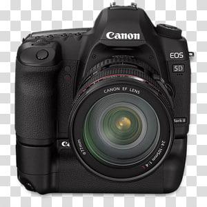 hitam Canon EOS 5D kamera, kamera digital kamera & optik lensa refleks lensa tunggal, depan 5d bg png