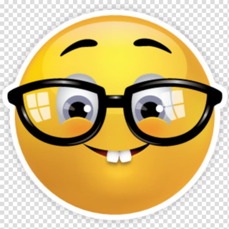 ilustrasi emoji, Emoji Nerd Emoticon Smiley Geek, sedih emoji png