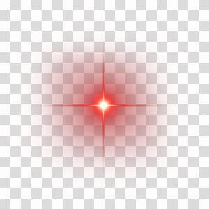 Titik sudut garis cahaya merah, elemen efek cahaya merah bersinar, percikan merah png