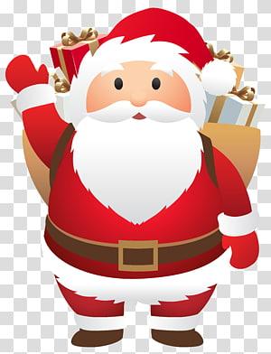 Ilustrasi Santa Claus, Santa Claus Natal, Santa Lucu png