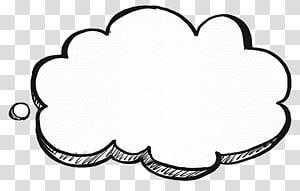 Cloud Cartoon Drawing, Berpikir tentang dekorasi cloud, cloud png