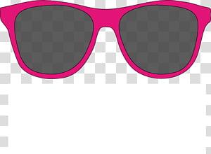 kacamata hitam abu-abu dengan bingkai merah muda, kacamata hitam Aviator, Kacamata Darren Criss PNG clipart
