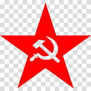 ilustrasi bintang merah, Komunisme Bintang merah Komunisme, Partai Komunis Tiongkok, bintang Merah png