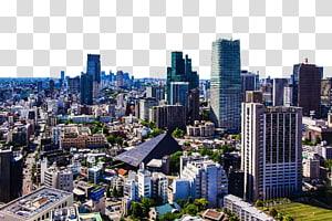 bangunan kota, Tokyo Panorama, Tokyo HD panorama png