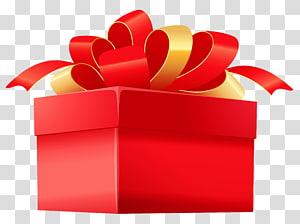 ilustrasi kotak hadiah merah, Kotak Hadiah, Kotak Hadiah Merah png