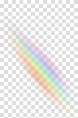Rainbow Light Warna Sky, Efek cahaya png