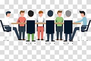 Business Meeting Management Meeting Corporation, pekerjaan sosial png