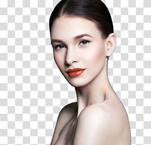 wajah wanita, Model Kecantikan Alis Rias, Model Rias PNG clipart