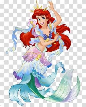 Ariel Tinker Bell bingkai Disney Princess Frame sepeda, Dancing Ariel, ilustrasi Disney Ariel PNG clipart