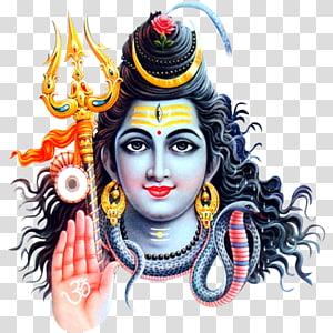 Ilustrasi dewa Hindu, Maha Shivaratri Parvati Hanuman Ganesha, Hanuman png