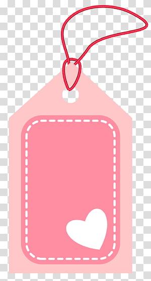 Kertas Label, Label Valentine Pink, label harga pink png