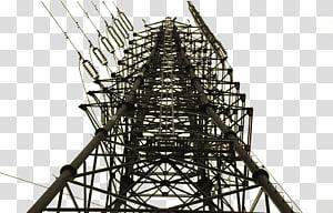 Baja struktural Listrik Menara transmisi baja listrik, menara tegangan tinggi png