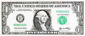 Tagihan satu dolar Amerika Serikat Uang Kertas Dolar Amerika Serikat Uang kertas lima dolar Amerika Serikat, Dolar, uang kertas 1 dolar AS png