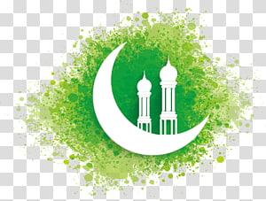 Masjid Ramadhan Idul Fitri Islam Idul Fitri Mubarak, materi Islam, bulan sabit putih PNG clipart