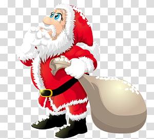 Santa Claus, Santa Claus Natal, Santa Claus Lucu png
