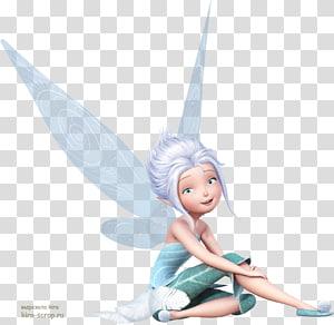 peri mengenakan ilustrasi gaun teal, Tinker Bell Disney Fairies Silvermist Vidia Periwinkle, Fairy png