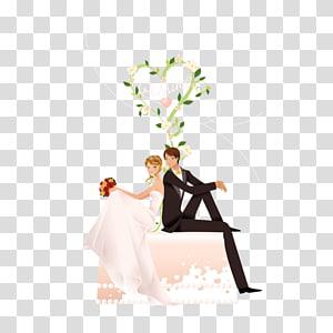 ilustrasi pernikahan, undangan pernikahan Love Bridal shower Pernikahan, pernikahan png