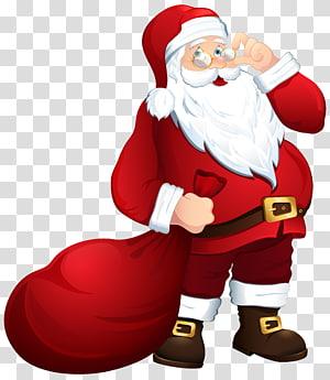 Santa Claus, Santa Claus, Ny. Claus Natal, Santa Claus dengan Tas png