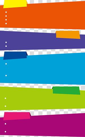 karya seni oranye, biru, dan hijau, Kotak teks Warna, kotak teks Multicolor png
