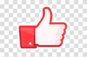 merah Seperti logo grafis, media sosial Jempol sinyal Facebook suka tombol Facebook suka tombol, media sosial png