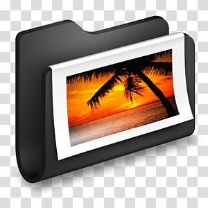 ilustrasi folder hitam putih, elektronik panas multimedia, s Folder Hitam png