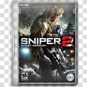 Sniper 2 Ghost Warrior PC DVD case, perangkat lunak video game film game tentara pc, Sniper Ghost Warrior 2 png