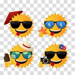 Matahari musim panas PNG clipart