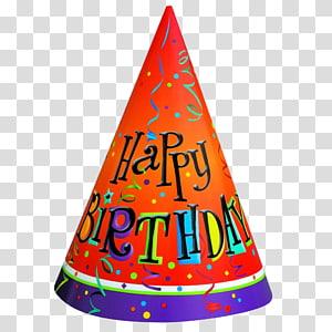 ilustrasi topi ulang tahun berwarna-warni, topi Pesta Ulang Tahun, Topi Ulang Tahun png