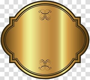 aplikasi permainan tebak logo, Label Pakaian Vintage Emas, Template Label Mewah Emas PNG clipart