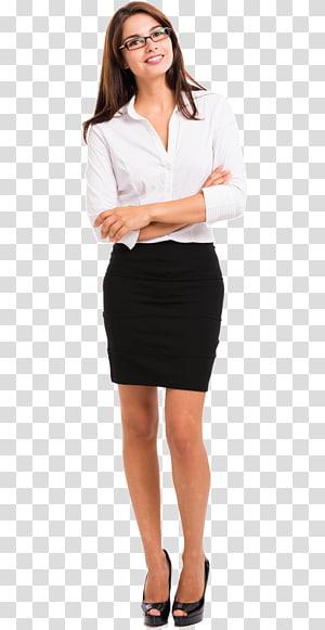 Spanduk Organisasi Layanan Bisnis, wanita bisnis png