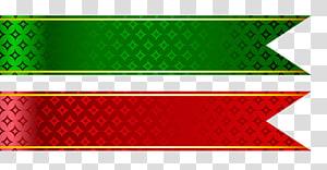 Pita Pita perekat Pita web, Set Pita Merah dan Hijau, dua pita merah dan hijau png